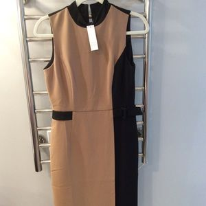 NWT White House Black Market Sheath Dress